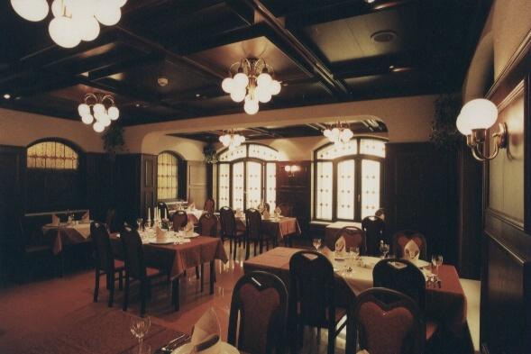 Hotel Bravo - interiér restaurace, Česká Třebová