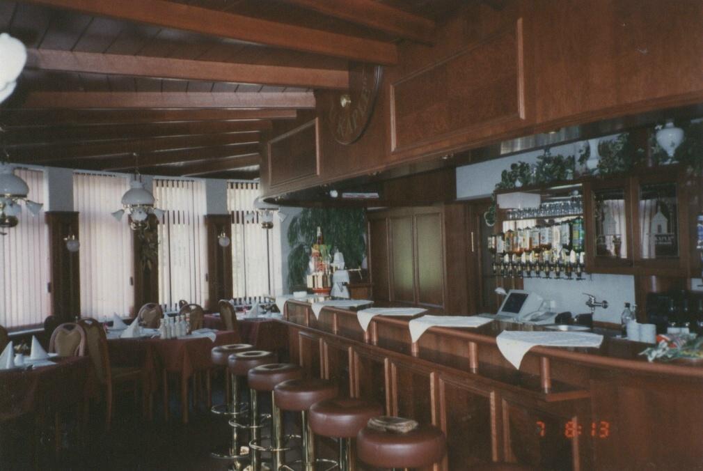 Interiér restaurantu U kaple, Česká Třebová